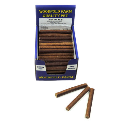 "Woodfold Farm 5"" Tripe Stick x 80"