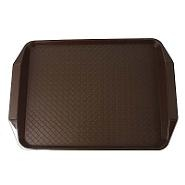 Cambro Fast Food Tray with Handle Brown 415mm x 315mm