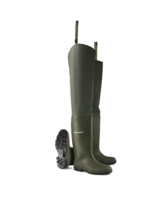 Dunlop 386VP Green Non-Safety Hip Wader