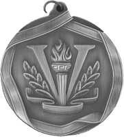 60mm Victory Medallion (Antique Silver)