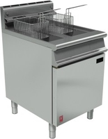 Falcon G3860 Free Standing Single Tank-2 Baskets Gas Fryer