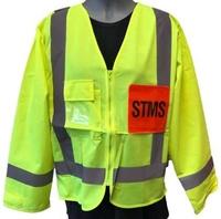 STMS Hi Vis TTMC-W Supervisor Long Sleeve Safety Vest