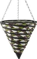 "Akita All Weather Hanging Basket Cone 12"""