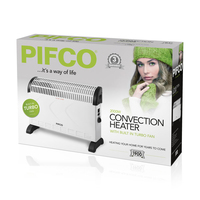 PIFCO 2KW CONVECTOR WITH TURBO FAN