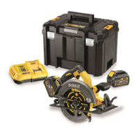 DEWALT DCS575T2 54V XR Circular Saw Flexvolt 190mm c/w box, charger, 2 x DCB546 6.0ah Li-ion FLEXVOLT BATTERIES (DeWALT Special Discount Price)