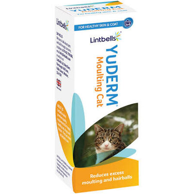 Lintbells YuDERM Moulting Cat 50ml x 1