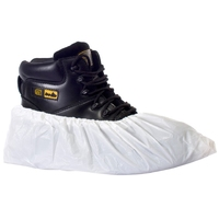 Supertouch CPE Disposable Overshoes, White (2000 per pack)