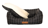 Ralph & Co Nest Bed - Ascot Black Tweed Small x 1