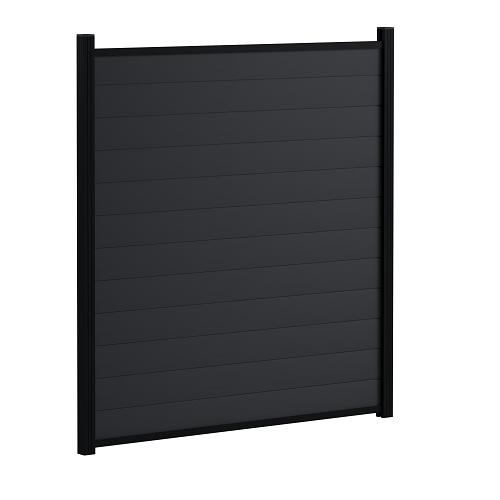 Bison Composite Fence Kit 1900mm - Cinder