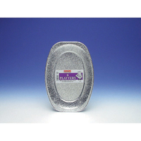 Caroline 4 x 14'' Foil Platters 1071