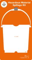 Hazardous Material Spillage Kit Shadow Board