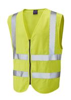 Leo HARRACOTT ISO 20471 Cl 2 FR/AS Waistcoat (EN 11612)