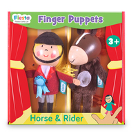 Horse & Rider Finger Puppets
