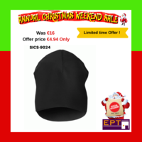 SNICKERS 9024 BLACK BEANIE HAT (Annual Christmas Sale Special Price)