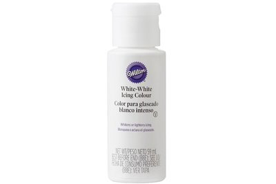 WILTON : ICING COLOUR - WHITE WHITE - 59ML