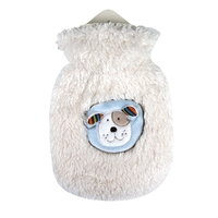 Children Small 0.8 Litre Hot Water Bottle Dog Brum