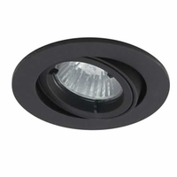 DIE CAST OUTDOOR ADJUSTABLE DOWNLIGHT BLACK IP44 | LV1002.0010