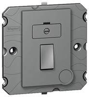 Arteor 13Amp Fused Spur (Without Neon) - Magnesium | LV0501.0056