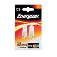 Eveready 28W (40W) Energy Saving Halogen G9, 2pk
