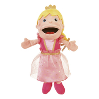Moving Mouth Princess Hand Puppet.