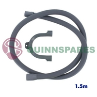 Universal Drain Outlet Hose & Hook (Length: 1.5M / Fitting: 19 & 22Mm)