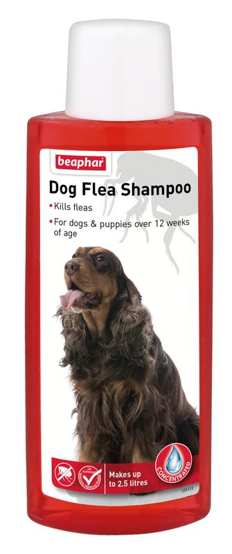 Beaphar Canac Dog Flea Shampoo 6 x 250ml