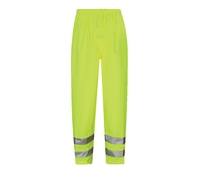 Viking Hi-Visibility Waterproof Breathable Trousers Yellow