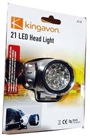 KINGAVON HL155 21 LED HEAD LIGHT