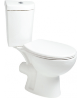 SONAS STRATA CORNER WC W360 X H780 X D760 MM WITH CISTERN AND S/C SEAT