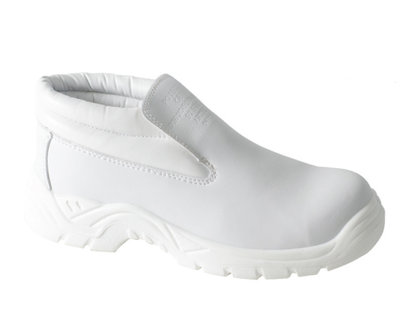 REDBACK Artic Microfibre Slip-on Boot White S2 SRC