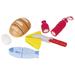 Wooden set of toy delicacies