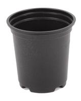 Aeroplas Pot Thermoformed 9cm High - Black