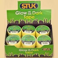 STUK 1 MTR GLOW IN THE DARK TAPE