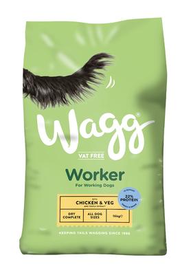 Wagg Worker Complete Chicken & Veg 16kg [Zero VAT]