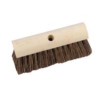 "10"" Yard/Garden Broom Head Only threaded (WT521)"