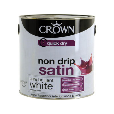 CR QUICK DRY SATIN      BRIL WHITE 2.5L