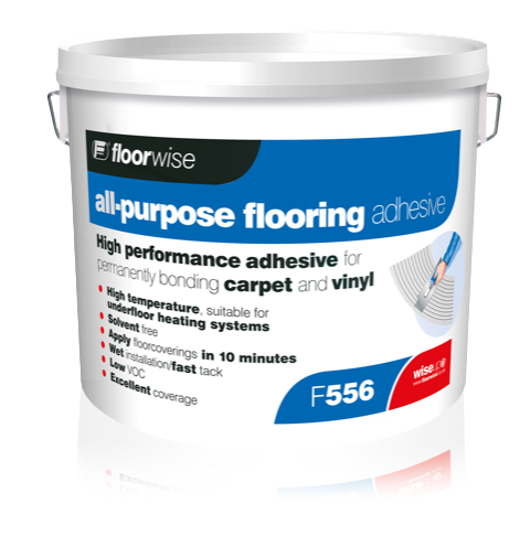 F556 Universal High Temperature Flooring Adhesive (Formerly ECO 3000)