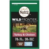 Nutro Wild Frontier Large Dog Turkey & Chicken 10kg