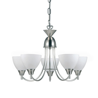 Alton 5 LT Pendant 60W Satin Chrome
