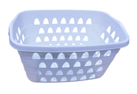 Rectangular Laundry Basket 60X40Cm Duckegg