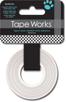 Tape Polka Dot Black/White (Priced in singles, order in multiples of 4)