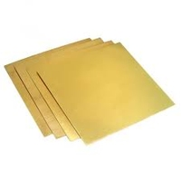 Brass Sheet 1000mm x 500mm