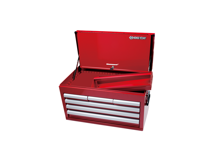King Tony Toolchest 6 Drawer  with Front Flap 87411-6B