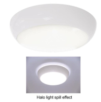 ANSELL 14W Disco Slim Halo 4000K LED M3