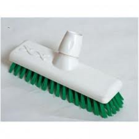 HYGIENE DECK SCRUB HEAD GREEN