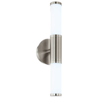 EGLO Palmera 1 Satin Nickel Wall Light Twin LED 2x4.5w | LV1902.0060