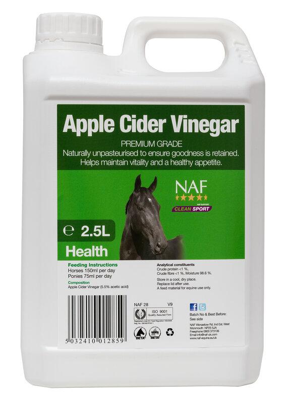 NAF Apple Cider Vinegar 2.5L
