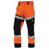 TWZ Craftsman Hi Vis Lightweight RIPSTOP Cotton Trouser 210gsm