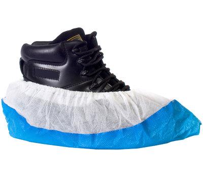 White Blue Overshoe