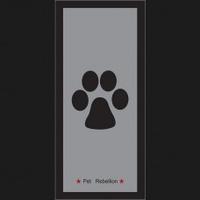 Pet Rebellion Stop Muddy Paws - Muddy Paws Grey 45 x 100cm x 1